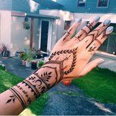 100 meilleures idées: tatouage au henné pour les filles   – Mal tattoo