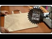 Photo of SIMPLE Gusseted Cloth Bag Sewing – YouTube