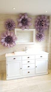 Papier Pom Pom Blumen Hochzeiten Dekorationen Blume Wand | Etsy