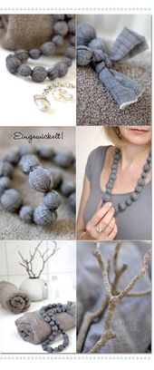 ★ Les Tissus Colbert: Kelly's Corner: Summery Jewelry, Simple and Beautiful …