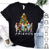 Stranger Things Characters Friends Christmas Tree shirt, hoodie, sweater