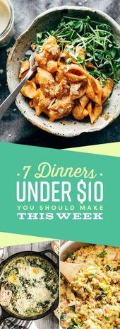 7 Abendessen unter 10 $, die Sie diese Woche machen sollten   – food