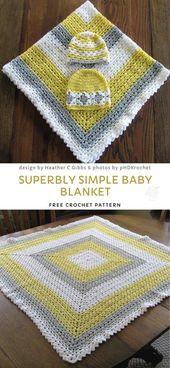 Baby Blanket Sophia Rose's Blanket Blanket Free Pattern