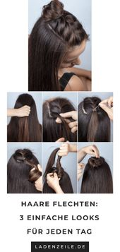 Braided hairstyles: Instructions for styling hair