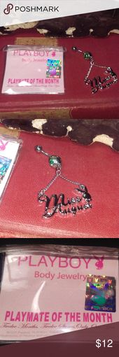 Miss August Playmate des Monats Body Jewelry Boutique   – My Posh Picks
