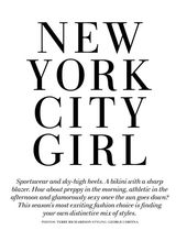 "H&M Spring 2010 Magazine: Natasa Vojnovic ""New York City Girl"" – nitrolicious.com"