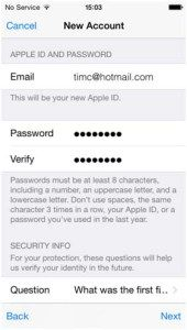 Provide Your Personal Information Apple Icloud Tech Inspiration