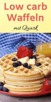 Low carb Waffeln mit Quark – In unter 10 Minuten!
