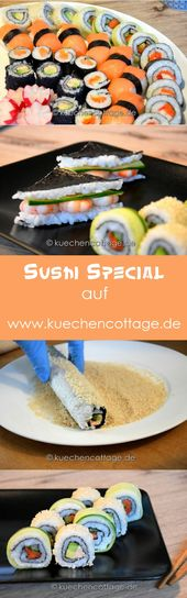Großes Sushi-Special