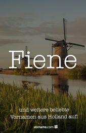Niederländische Namen mit Bedeutung und Herkunft   – Internationale Mädchen- und Jungennamen