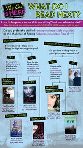 An Infographic to Help You Decide What Series to Read Next – The Best of Epic Reads