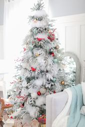 20+ Awesome Christmas Tree Themes Décor Ideas For Home That Inspire You