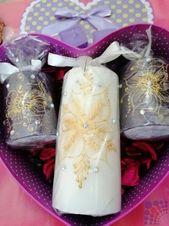 شموع مزخرفة في دبي Pillar Candles Candles Art Design
