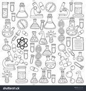 Science doodles #science #doodles | wissenschaft kritzeleien | griffonnages scientifiques | garabatos de ciencia | science aesthetic, science art, sci…