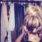 Coole und hübsche lange Haarknoten für Damen #ladies #pretty – – #Kurzhaarfrisuren – – #Kurzhaarfrisuren