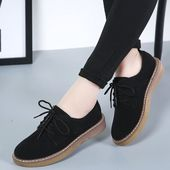 Weideng genuine leather cow suede winter shoes women casual boat footwear flats slip on ladies loafers zapatos mujer – outfits