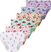 Winging Day Little Girls Cotton Panties Baby Toddler Soft Underwear Multipack