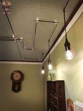 Wie Dekorieren Ihre Decke Mit Ihrem Licht Fixture Koorden Koorden Decke Deckelighti In 2020 Hanging Light Fixtures Diy Light Fixtures Light Fixtures