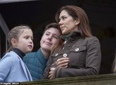 Princess Mary is every inch a doting mum on royal family day out