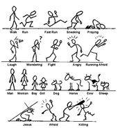 How to draw stick figures in action. – This shall …