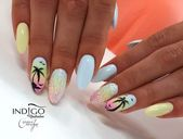 Fashionable nails for the holidays – TOP 25 Amazing suggestions for …, #acrylicSummerNails # …