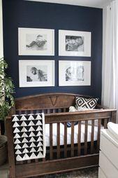 Schöne Ideen für einen kleinen modernen Kindergarten! Dieses winzige Babyzimmer ist   – magic happens!