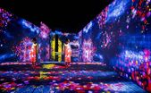 teamlab magnifies the lifecycle of plants with 'living digital forest'