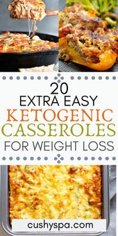 20 Additional Simple Ketogenic Casseroles for Weight Loss