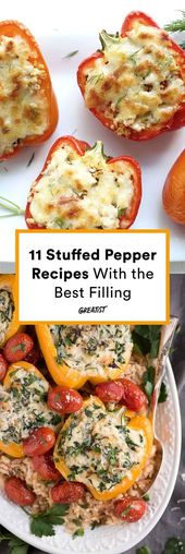 Fourre-le! 15 recettes de poivrons farcis dignes de légumes pour les légumes, les végétaliens et les omnivores
