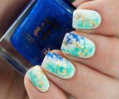 51 Einfache kurze Nail Art Design für den Frühling – Uñas bonitas #Art #bonitas #Des …   – Nail art wedding