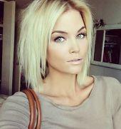 Wunderschöne blonde Bob-Frisuren, die Sie begeistern werden