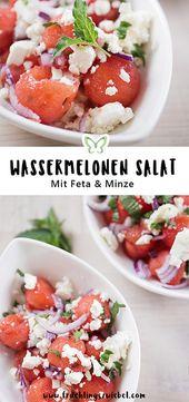 Probieren Sie unbedingt: 3 einfache und gesunde Wassermelonenrezepte   – Abnehmen Gruppenboard