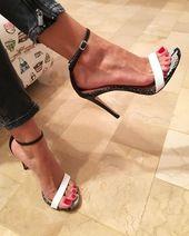 Snake Print Ankle Strap Women Fashion Peep Toe Sandals High Heels Shoes