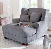 Big Longchair Armchair XXX Armchair Oase Megasessel Wing Chair Gray NEW TOP