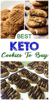 Biscuits Keto que vous pouvez acheter – MEILLEURS desserts et collations à faible teneur en glucides à acheter – Facile magasin de régime cétogène acheté des idées de biscuits – Délicieuses gâteries