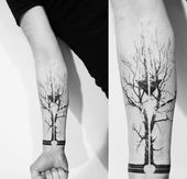 Tattoo tree and tattoo tree of life: meaning and inspirations