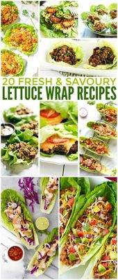 Salatwickelrezepte sind eine großartige Idee, wen…