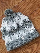 Frozen Winter (bun) Hat