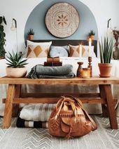 7 Bohemian interiors for a darling spring (Daily Dream Decor)