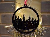 Photo of Tannenbaum Acryl Weihnachtsbaumdekoration – Weihnachtsdekorationen – Weihnachtsbaumkugel – Strumpf