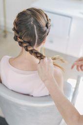 Black Tie Wedding Hairstyle: Crown Braid Tutorial #braidedUpdos