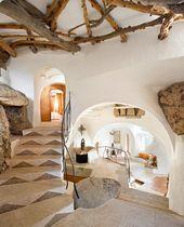 Die Wunder des Lebens in einem unterirdischen Haus –