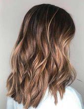 40 auffällige blonde Highlights für braunes Haar (Bronde Frisuren)