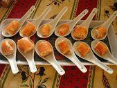 Bouchées de saumon au mascarpone et au citron vert