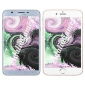 Swirling Abstract IPhone/Android Wallpaper * IPhone / Android Background - Instant Download (Black, Pink & Green)