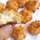 Gluten-Free Coconut Macaroons (Keto, Low Carb, Sugar-Free)