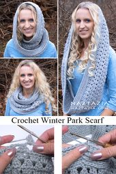 How to Crochet the Winter Park Scarf