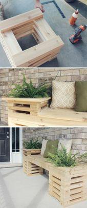 Decoración de jardín para manualidades – 40 bellas imágenes – Archzine.net   – Garten