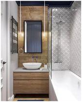 Photo of 40+ Stunning Small Bathroom Makeover Ideas » Homedecorsidea.info