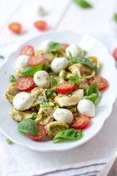 Italian tortellini salad – # Italian #salat #tortellini – #new